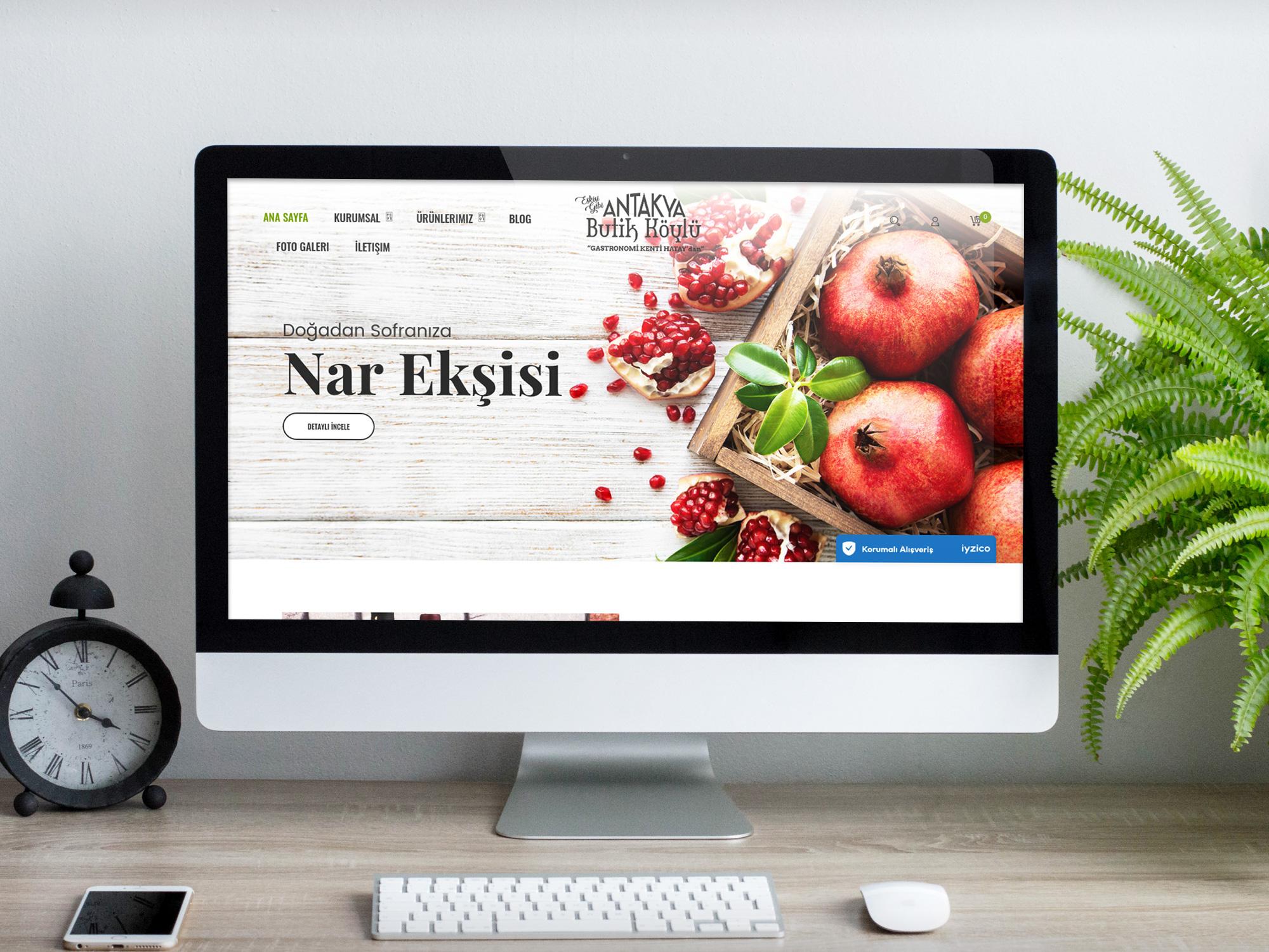 Butik Köylü Web Tasarımı